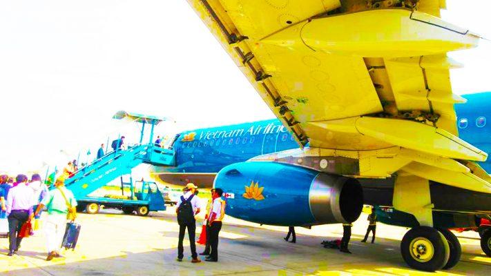 海外出張・飛行機